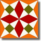 North Dakota - Free Quilt Block Pattern