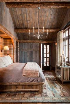 Rustic and Modern Bedroom