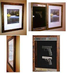 70+ cool hidden gun storage furniture ideas (31)