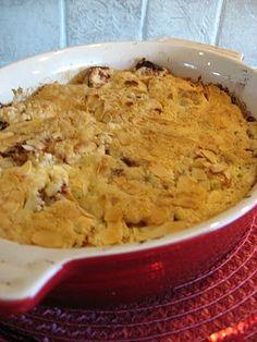 Lill-Ingrids bakblogg: Glutenfri smulpaj med äppelklyftor