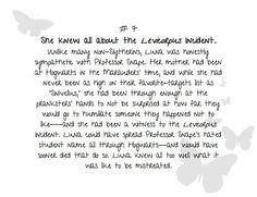 """""""Twenty Random Facts About Luna Lovegood"""" from www.fanfiction.net."""