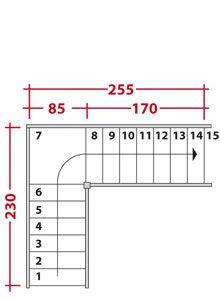 calcul escalier avec palier recherche google r novation pinterest search. Black Bedroom Furniture Sets. Home Design Ideas