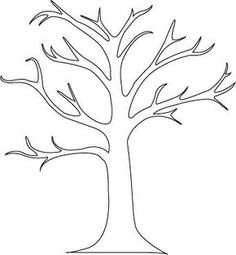 Tree Branch Stencils for Walls | beautiful tree mural with very little painting required.