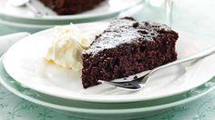 Flourless chocolate tort image