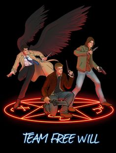 Team Free Will, Supernatural
