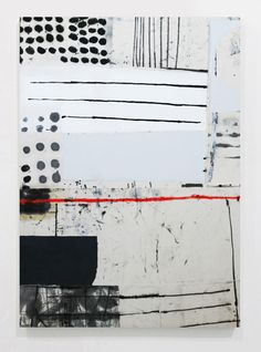 Modern Art, Contemporary Art, Black And White Painting, Abstract Art, Abstract Paintings, Art Abstrait, Collage Art, Painting & Drawing, Oil On Canvas