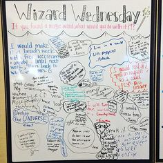 Today was Wizard Wednesday! If you found a magic wand, what would you do with…