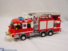 Fire Dept, Fire Department, Lego Projects, Projects For Kids, Ambulance, Lego City Fire Station, Lego Auto, Lego Fire, Lego City Sets