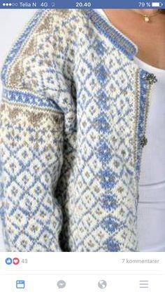 Fair Isle Knitting Patterns, Fair Isle Pattern, Sweater Knitting Patterns, Knitting Designs, Knitting Tutorials, Vintage Knitting, Lace Knitting, Knit Crochet, Crochet Granny