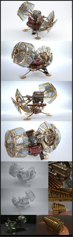 Time Machine Tests by `Hameed on deviantART ~ Awesome! Time Machine Movie, The Time Machine, Tesla Turbine, Aperture Science, School Art Projects, Mechanical Design, Sci Fi Movies, China Fashion, Dieselpunk