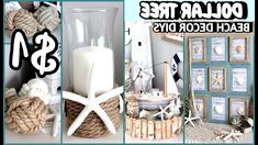 DIY Bathroom Decor Ideas that can be done with cheap Dollar Stores items! Beach Theme Bathroom, Bathroom Signs, Vanity Bathroom, Home Decor Shops, Diy Projects, Project Ideas, Beach Themes, Home Decor Inspiration, Dollar Tree