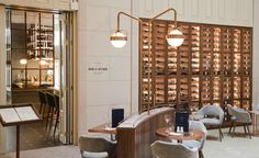 Budapest is now the home for a new Ritz-Carlton hotel. Designed by B3, get inspired by Deak St. Kitchen and Kupola Lounge's restaurant interior! See more: https://www.brabbu.com/en/inspiration-and-ideas/world-travel/inspired-deak-st-kitchen-kupola-lounge-restaurant-interior