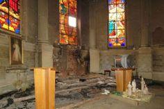 Sagrado Corazón Eucarístico de Jesús: Hora Santa en reparación por las iglesias, imágene...