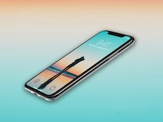 Perspective iPhone X Mockup – Free PSD – ApeMockups