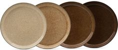 Denby Studio Craft 4-Pc. Coupe Dinner Plate Set