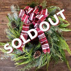 Holiday Wreath Design Virtual Class Kit December 3rd 5PM EST - Wreath Kit