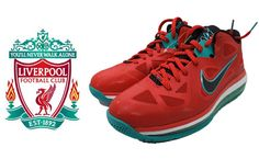 Nike Lebron 9 Liverpool: Woah, looks like Merseyside has their own Lebron colourway
