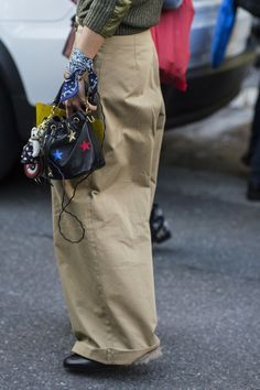 Best Street Style Shoes and Bags Fashion Week Spring 2016   POPSUGAR Fashion