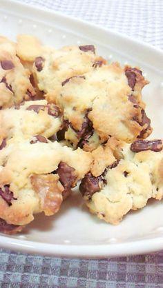 簡単☆チョコチップクッキー