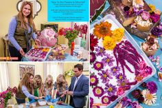SET YOUR DVR'S FOR TUESDAY! Shirley is back (so soon!) to show you how to dry flowers using silica gel. Learn to preserve flowers for floral crafts and dried flower arrangements.  Home & Family show on Hallmark Channel USA Tuesday, 2/17  EdenMakers.com