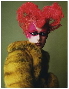 Agyness Deyn by Steven Meisel (Vogue Italia 2006)