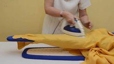 Come stirare le camicie con AIRON, l'asse da stiro che mancava. Stiratura veloce, intuitiva. Ogni angolo della superficie dei piani stiro è utilizzabile, ogni indumento trova la giusta collocazione e la stiratura avviene su di un unico strato di tessuto, così da eliminare fastidiose pieghe non volute. Le maniche, lunghe o corte, vengono stirate come non mai. www.angyshop.com