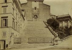 Italie, Rome, Ara Coeli. 1875
