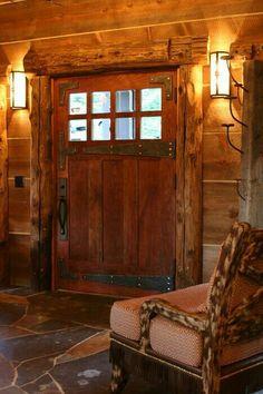 Puerta cedro