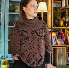 Elegant Crochet Poncho Pattern Crochet by MyBeautifulStuff on Etsy