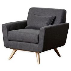 Abbyson Living; Paisley Arm Chair in Grey - $459