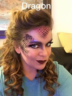Broadway Shrek Dragon Makeup