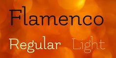 Flamenco Font Family · 1001 Fonts