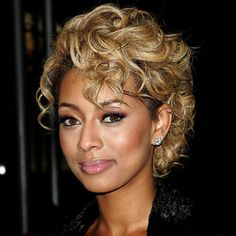 keri hilson hairstyles | Keri Hilson's Curly Crop - October 2010 - Hair Look of the Day ...