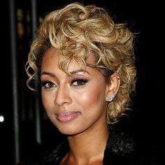 Stupendous Keri Hilson Beyonce And Hair On Pinterest Short Hairstyles For Black Women Fulllsitofus
