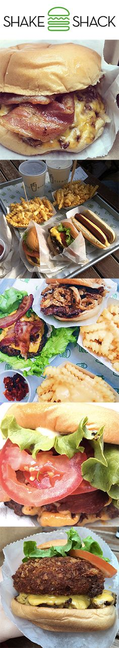 If you want an authentically awesome burger in London, you need to head to Shake Shack in Covent garden. They do epic cheese fries too.