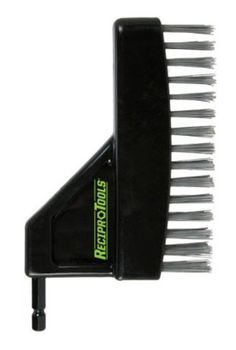 Reciprotools RCT-ST10-OB Stainless Steel Off-Set Brush Accessory Attachment…