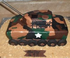 Call of Duty Black Ops Army Cakes and Cupcakes
