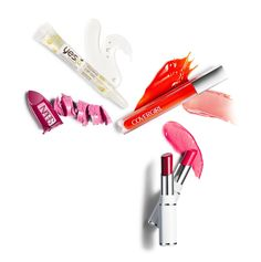 Best Lips: CoverGirl Colorlicious Lip Gloss, $7.99; Lancôme Shine Lover Vibrant Shine Lipstick, $25; NARS Audacious Lipstick, $32; Yes to Coconut Cooling Lip Oil, $4.99