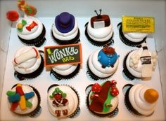 Charlie and the Chocolate Factory Cupcakes