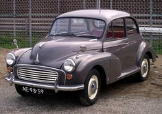 My dads Morris Minor