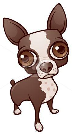 character more chihuahua cartoon aye chihuahuas cartoon character tuts ...