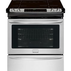 Frigidaire Gallery CGIS3065PF 30-Inch 4-Element 4.6-cu ft Slide-in Induction Range (Smudge-Proof Stainless Steel)