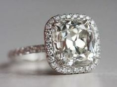 Cushion Cut Engagement Rings Under 2000 43