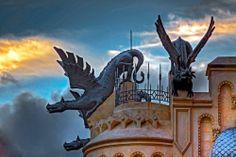 Ornamentación - Casa de los Dragones en Ceuta