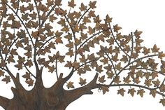 Deco 79 Metal Wall Tree Decor, by Metal Tree Wall Art, Metal Art, Tree Wall Decor, Wall Art Decor, Tree Artwork, Thinking Outside The Box, Unique Home Decor, Metal Walls, Art Projects