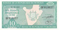 Motivseite: Geldschein-Afrika-Burundi-Franc-10.00-2001