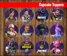 Fortnite Archives - Page 3 of 6 - Printable Teen Boy Party, Printable Letters, Cupcake Party, Party Printables, Cupcake Toppers, Mini, Card Stock, Etsy, Birthday Ideas