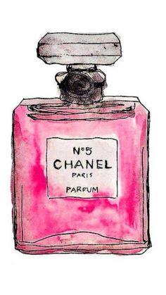 Hand Drawn Chanel No. 5