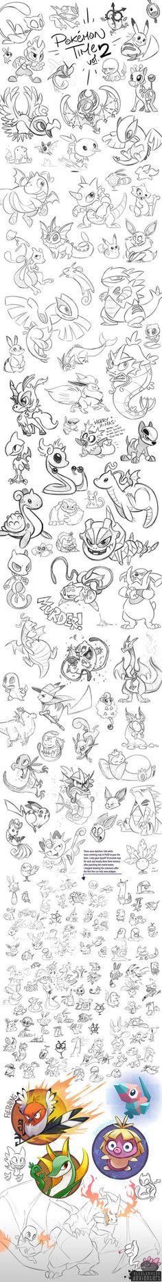Pokemon Time 2 by Altalamatox