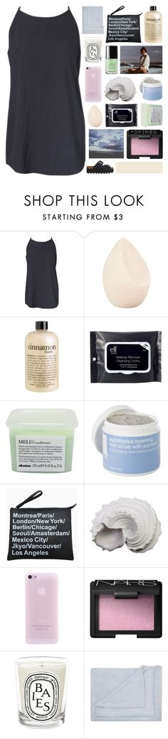 """day vs. night battle group first round ❁"" by annamari-a ❤ liked on Polyvore featuring Christian Dior, philosophy, e.l.f., Davines, Lather, Urban Trends Collection, NARS Cosmetics, Diptyque, M&Co and melsunicorns"